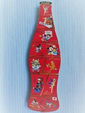1  COCA COLA  DISNEY PUZZLE WINTER OLYMPIA  PIN BOTTLE LIMITED EDITION 100