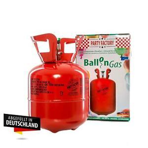 Helium für bis zu 20 Luftballons, Einwegflasche 0,14m³, Ballongas, Heliumflasche