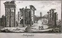 Cirque de Maxence 1772 théâtre de Marcellus Rome Antique Diderot forum Nerva