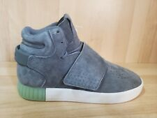Women's ADIDAS Hi Top Fashion Sneakers size 9.5 Athletic Shoes Suede NEW Gray