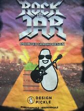 Design Pickle Rock The Jar Unlimited Graphic Design World Tour 2017 T-shirt M