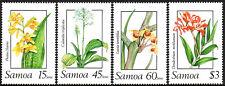 Samoa 751-754, MNH. Orchids, 1989