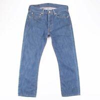 LEVI'S 501 Regular Straight Fit Men's Blue Jeans W31 L27