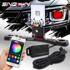 RGB LED Strip Demon Devil Eyes Bluetooth Smartphone App Remote Control Lights