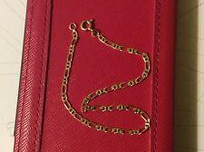 Bracelet en or, maille marine alternée  (18 carat 750/1000)