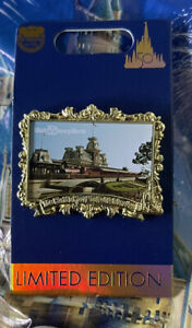 Disney 50th Anniversary Train Station Countdown Pin New LE 3000 Pin In Hand