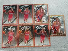 1996-97 TOPPS ALLEN IVERSON FINEST BASE LOT 7 CARDS BRONZE ROOKIE RC