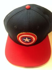 Captain America Snap Back Hat