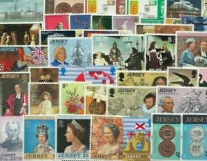 Jersey - 50 Different Mint Stamps