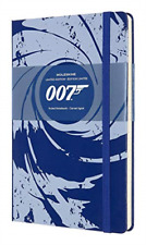 Moleskine Limited Edition Notitieboek James Bond Hard Cover - Large... BOOK NEW