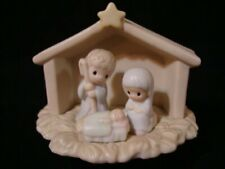 Precious Moments Sugar Town Nativity-1994 Retired