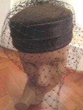 Bonito Sombrero Antiguo Pastillero
