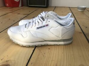 Reebok Classic Trainer for Men, Size UK 10 - White