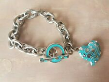 Enamel Heart And Stars Bracelet Vivienne Westwood Crystal And Turquoise
