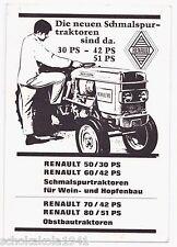 AK Der neue --Renault Traktor-- ist da von 1969