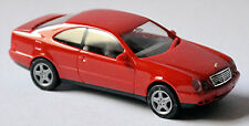 Mercedes Benz Clase C CLK C208 Coupé 1997-99 Rojo Señal 1:87 Herpa