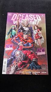 2020 DC COMICS DCEASED DEAD PLANET #4 NM MINI-SERIES SUPERMAN