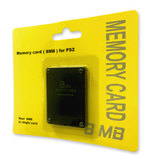 Old Skool PlayStation 2 PS2 8MB 8 MB Memory Card ** BRAND NEW **
