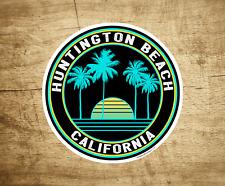 "Huntington Beach California Decal Sticker  3"" Surfing Pacific Ocean Surf"