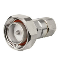 7/16 DIN Male Clamp plug RF Connector for Corrugated Copper 1/2'' Helical Cable