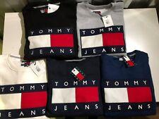 TOMMY JEANS 90'S STYLE SWEATSHIRT/JUMPER IN S-M-L-XL-XXL