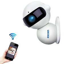 ESCAM QF200 960P Mini Robot 1.3MP WiFi AP IR IP Camera Night Vision 360 Degree R