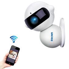 ESCAM QF200 960P Mini Robot 1.3MP WiFi AP IR IP Camera Night Vision 360 Degree R