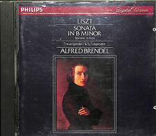 Liszt: Sonata in B minor, etc / Alfred Brendel by Alfred Brendel (CD, Philips)