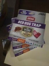 Ortho Home Defense Max Bed Bug Trap (3) Two Boxes (6) Four Traps Brand New!