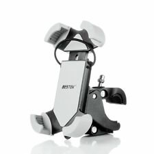 BESTEK Universal Bike and Motorcycle Cell Phone Mount Holder Bicycle Clamp Stand