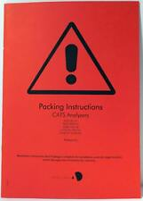 Audio Development CATS Analyzers Packing Instructions Manual Version 1.3