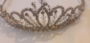 Bridal Tiara decorated with Crystals New RRP £89.00