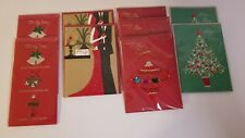 Lot Of 9 Papyrus Holiday Christmas Cards Wife, Mom, and Mom and Dad