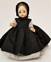 "Madame Alexander 8"" Doll - Amish.  Original clothing. Excellent condition. Vtg."