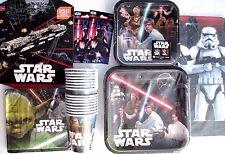 STAR WARS Classic Disney Birthday Party Supply SUPER Kit w/ 352 Stickers !