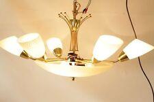 Schne Alte Sputnik Lampe Kronleuchter Deckenlampe Hngelampe 50er Jahre