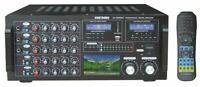 Singtronic KA-2500DSP Professional 3000W Mixing Amplifier 3.5' Screen, Bluetooth