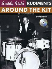 Buddy Rich's Rudiments Around the Kit Book and DVD NEW 014005287