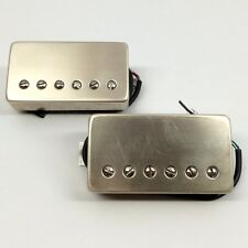 Bare Knuckle The Mule Vintage Output Pickup Set Raw Nickel Covers +Picks