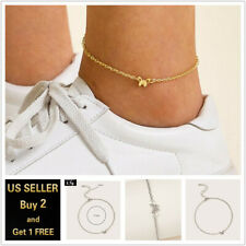 Ankle Bracelet Foot Chain Single Butterfly Gold Silver Anklet
