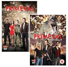 PRIMEVAL COMPLETE SEASON Series 4 & 5 - DVD 4 Disc Set New & Sealed