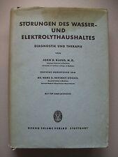 Störungen des Wasser- Elektrolythaushaltes Diagnostik Therapie 1959 Elektrolyt
