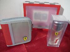 Ferrari Portafoglio Wallet Bifold Brieftasche + Profumo EDT 1 One ML 50 Vapo