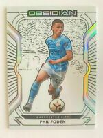 Last Number 2020-21 Panini Obsidian Phil Foden #32 9/9 MANCHESTER CITY