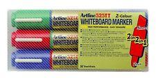 Artline PAINT WHITE BOARD  MARKER PEN BULLET CHISEL TIP 2-5mm Line PACK OF 3