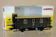 MARKLIN Märklin 4500 60-01 DR 500 JAHRE POST PACKWAGEN POST COACH 3059 BOXED ne
