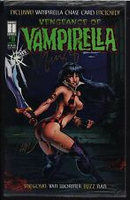 Vengeance of Vampirella 11 DOUBLE AUTOGRAPHED w)Vampy Card Bagged NM/MT 1995 GGA