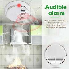 Detector de Humos Techo Alarma Anti Incendios Fuego Fumadores Fotoelectrico