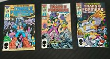 Transformers the Movie comic complete 3 issue Collection 1986 Marvel Comics