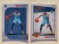 Ja Morant 2019 Panini NBA Hoops #259 RC Rookie #297 Tribute Grizzlies ROY LOT 2